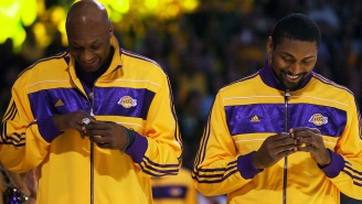 The NBA Title Rings Lamar Odom Reportedly Pawned For A Few Hundred Bucks During The Height Of His Addiction Are Selling For Wayyy More At Auction