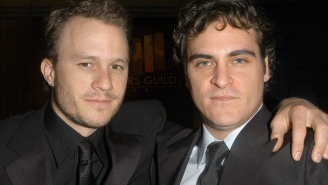 Joaquin Phoenix Praises Fellow Nominees And Pays Tribute To 'Favorite Actor' Heath Ledger In Amazing SAG Award Speech