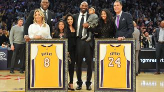 Jeanie Buss Shares Moving Tribute To Kobe Bryant: 'My Father Loved You Like A Son, Which Makes Us Family'