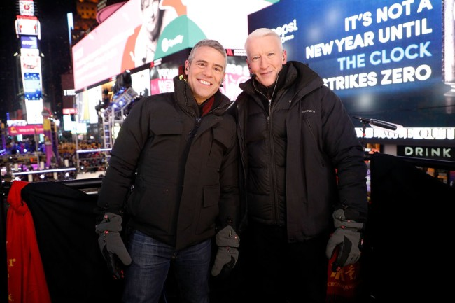CNN New Year's Eve special featured Don Lemon getting drunk, Anderson Cooper trying Jagermeister, and Andy Cohen asking how big Shaq's cock is.