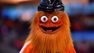 Philadelphia Flyers Mascot Gritty Is At The Center Of A Police Investigation For Allegedly Punching A 13-Year-Old Fan