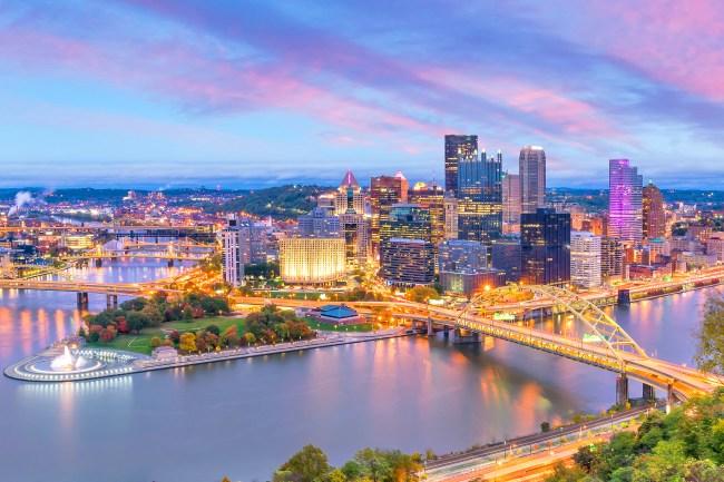 city of Pittsburgh skyline