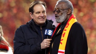 Jim Nantz Thought Travis Kelce Was Gonna Drop F-Bomb During AFC Title Game Celebration After He Ignored His Producers