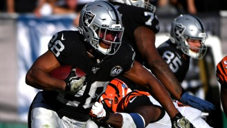 So Many Feels: Raiders Rookie Josh Jacobs, Who Grew Up Homeless, Just Bought His Father A House