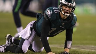 Josh McCown Somehow Played Through A Torn Hamstring Because The Eagles Had No One To Replace Him With