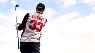Justin Thomas Wears Kobe's High School Jersey, Uses Kobe-Themed Wedges At This Week's Phoenix Open