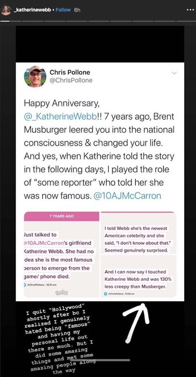 katherine webb brent musburger anniversary instagram
