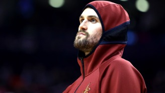 Kyrie Irving's Comment Calling The Media 'Pawns' Is Ridiculous, And Kevin Love Agrees