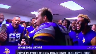 Vikings QB Kirk Cousins Yells 'YOU LIKE THAT' In The Locker Room After Eliminating The Saints From The Playoffs