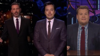 Late Night TV Hosts Pay Emotional Respects To Kobe Bryant