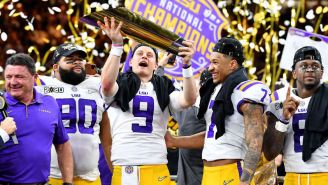 This Insane Stat About How Much Talent LSU Is Losing Means It's Going To Have A Tough Time Repeating As National Champions