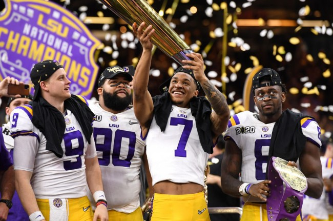 Kirk Herbstreit lsu national championship celebration