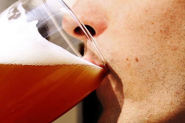 man registers beer emotional support animal