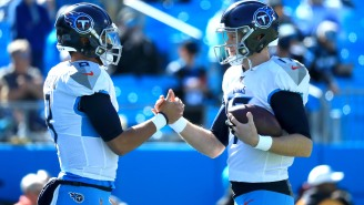 Marcus Mariota Had Some Incredible Words Of Support For Ryan Tannehill After AFC Championship Game Loss