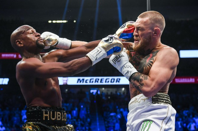 mcgregor mayweather back out ufc fight