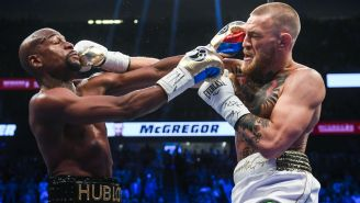 Conor McGregor Claims Floyd Mayweather Jr. Backed Out Of A Rumored UFC Fight But Says He Still Wants A Rematch With The Boxer