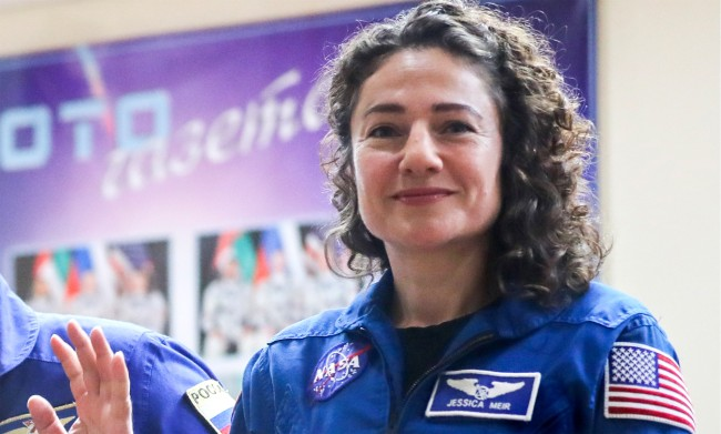 NASA Astronaut Jessica Meir Photos From ISS Upset Flat Earthers