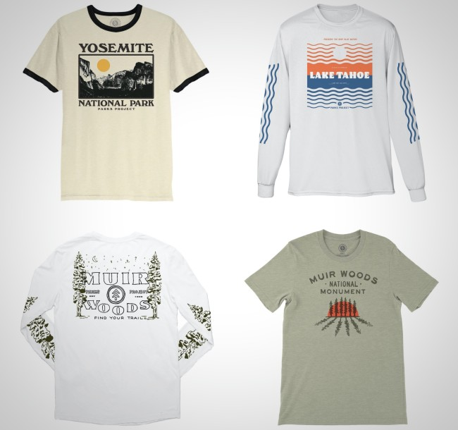 National Parks Project Vintage Style T-Shirts