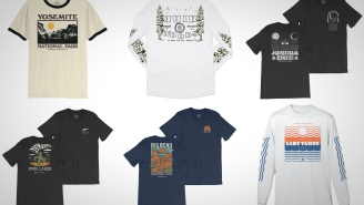 Give It Up For America's National Parks With These Sick Vintage-Style Tees