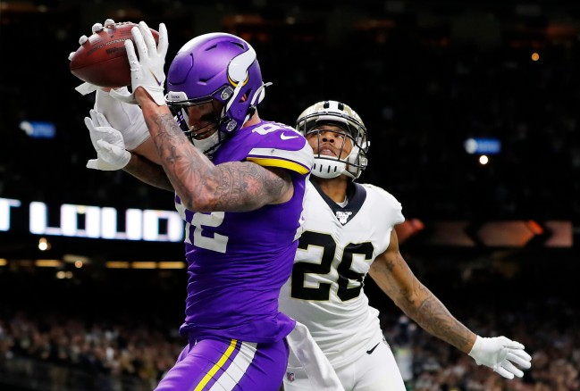 Tow former NFL referees explain why the officials missed pass interference on game-winning TD catch versus Vikings