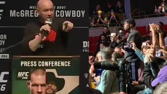 Chad Ochocinco Asked Conor McGregor And Cowboy Cerrone Who He Should Bet On At The UFC 246 Press Conference