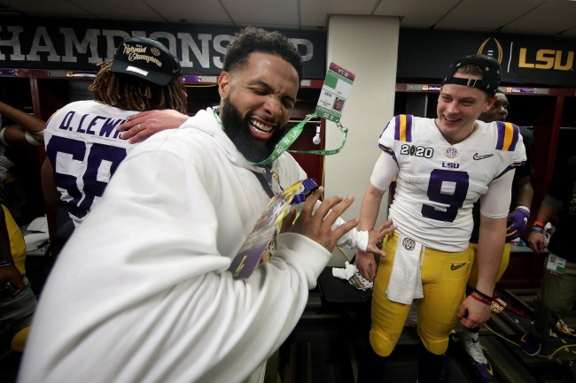LSU releases an official statement regarding Odell Beckham Jr. passing out cash to players after National Championship Game