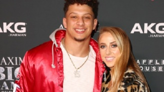 Patrick Mahomes' Girlfriend Brittany Matthews Is Extremely Hyped About The Chiefs Going To The Super Bowl