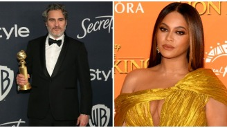 People Are Actually Upset Beyonce Refused To Give Joaquin Phoenix A Standing Ovation For Winning Golden Globe