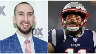 Nick Wright's Take On Julian Edelman's Arrest Is Equal Parts Bizarre And Hypocritical