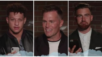 Tom Brady And His Butt Chin Get Destroyed In NFL Edition Of 'Mean Tweets'