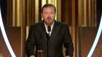 Rick Gervais Crushes Golden Globes Monologue, Drops Epstein Jokes, Calls Out Apple's Sweatshops, Tells Stars To Shove Their Political Speeches