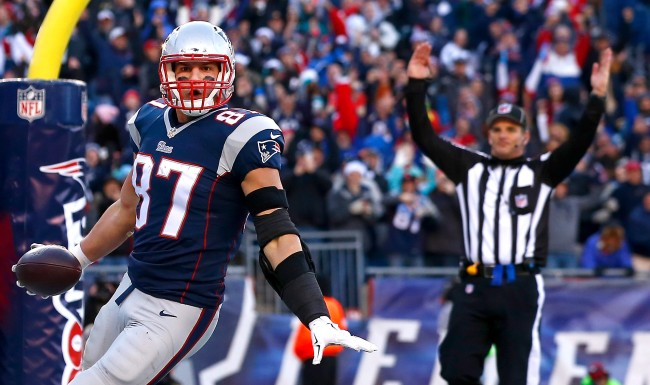 Rob Gronkowski Doesnt Regret Retiring But Doesnt Rule Out A Return