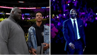 Kobe Bryant Texted Shaq's Son Shareef To Check Up On Him Just Hours Before Tragic Helicopter Crash