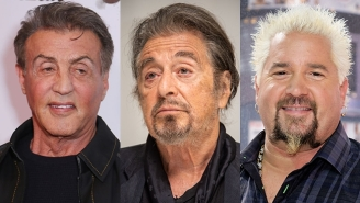 Sylvester Stallone Filmed Himself Introducing Al Pacino To Guy Fieri In A Truly Iconic Moment