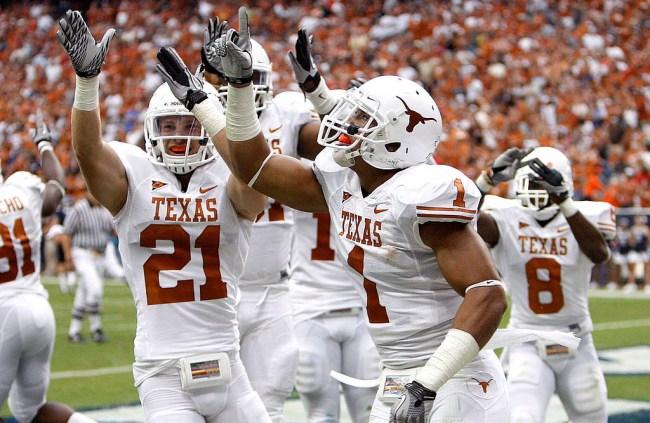texas longhorns interception bounty national championship