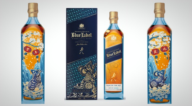 Johnnie Walker Blue Label Year of the Rat Chinese New Year