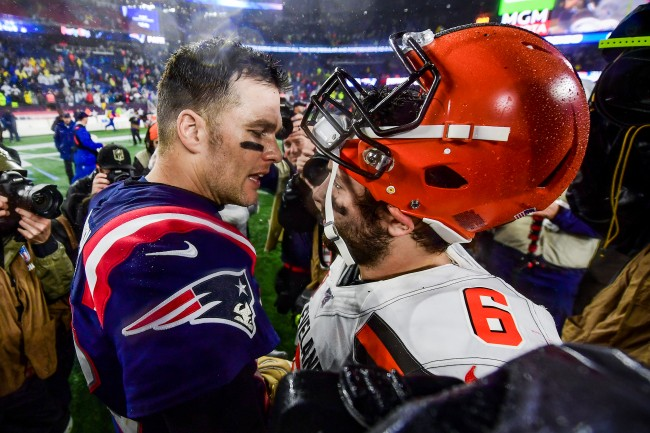 One sports betting site actually lists the Cleveland Browns as favorites to land Tom Brady this offseason