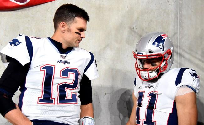 Tom Brady Trolls Julian Edelman On Instagram Over His Vandalism Arrest
