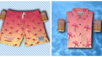 Naturdays Know No Limit With Tropical Bros' Badass Natural Light Hawaiian Shirt And Swimsuit
