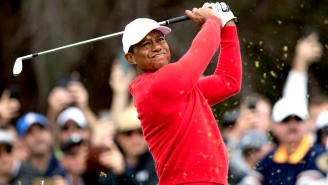 This Video Compilation Of Tiger Woods Flushing One Shot After Shot Is Utterly Addicting