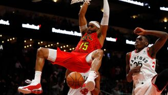 The 7'2″ Man Vince Carter Famously Jumped Over Is Lobbying The NBA To Invite Him To The Dunk Contest One Last Time