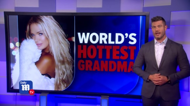 'World's Hottest Grandma' Joins The 'Naked Philanthropist' In Selling Nude Pics To Support Australian Fire Relief