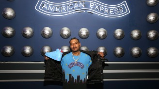 Chicago Streetwear Designer Don C Releases 'Amex Blue' Sneakers, Talks Partnership With American Express During NBA All-Star Weekend