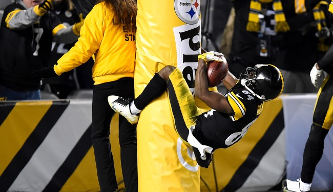 Antonio Brown Apologizes To Steelers Disses JuJu Smith-Schuster Again