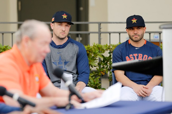 Astros Alex Bregman And Jose Altuve Issue Apologies Fans Still Angry