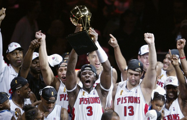 Former Pistons All-Star Ben Wallace explains why team wouldn't have won 2004 NBA title with Carmelo Anthony