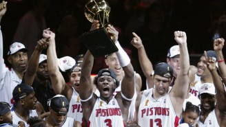 Ben Wallace Tosses Carmelo Anthony Under The Bus By Saying Pistons Wouldn't Have Won 2004 Title With Then Hyped Rookie
