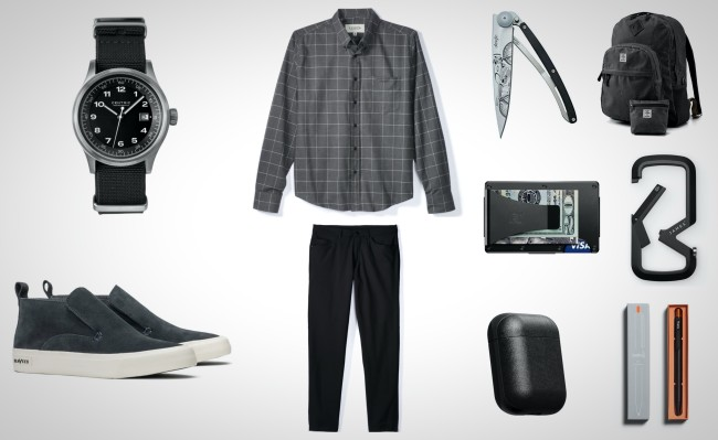 best everyday carry items in shades of black