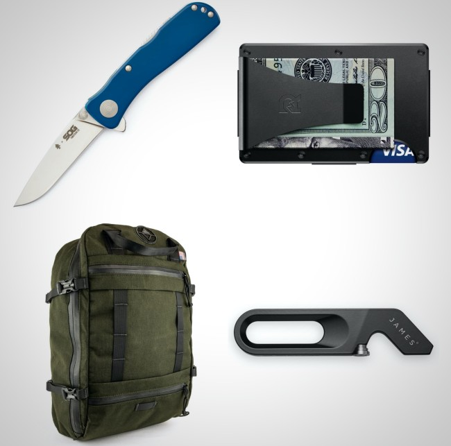 best everyday carry items weekend away