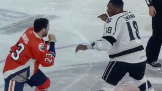 AHL Player Boko Imama Beat The Absolute Snot Out Of An Opponent Who Got Suspended For Hurling A Racial Slur In His Direction